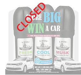 LION WIN A CAR COMPETITION - NSP Unsgaard (Pty) Ltd